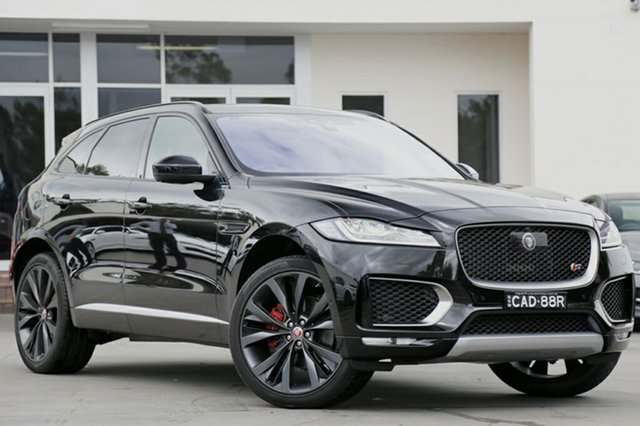 Demonstrator, Demo, Near New Jaguar F-PACE 30d AWD First Edition, Narellan, 2016 Jaguar F-PACE 30d AWD First Edition SUV