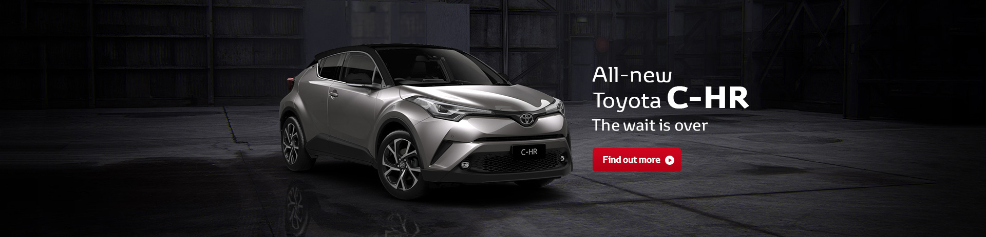 All-new Toyota C-HR