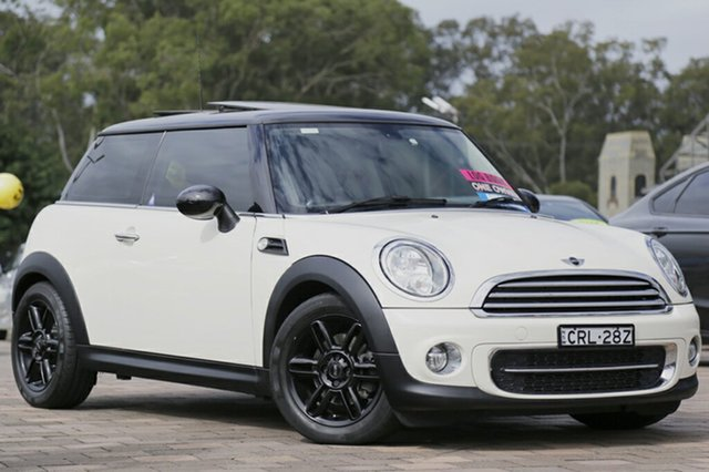 Used Mini Hatch Cooper D Steptronic, Warwick Farm, 2013 Mini Hatch Cooper D Steptronic Hatchback