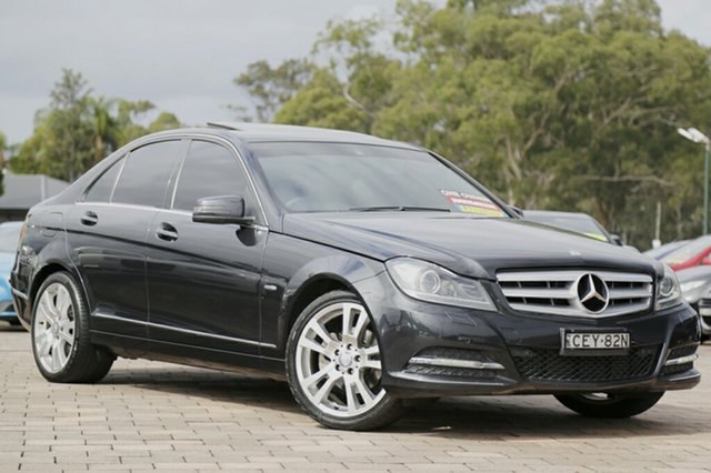 Used Mercedes-Benz C250 BlueEFFICIENCY 7G-Tronic + Avantgarde, Warwick Farm, 2011 Mercedes-Benz C250 BlueEFFICIENCY 7G-Tronic + Avantgarde Sedan