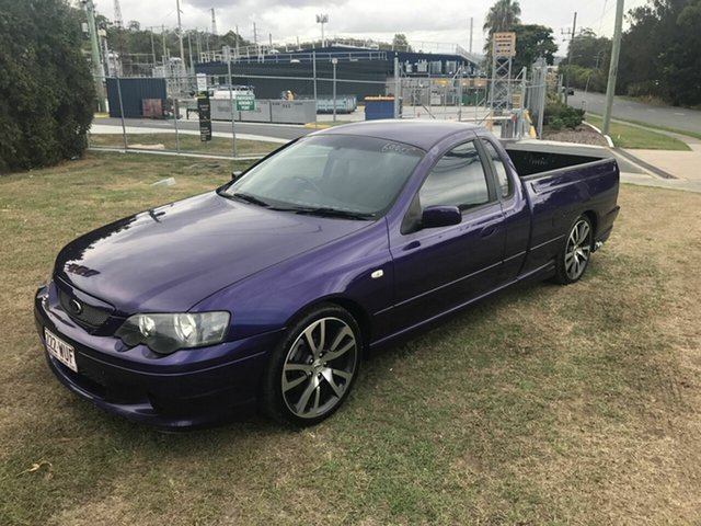 Used Ford Falcon XR6 Turbo Ute Super Cab, Burleigh Heads, 2004 Ford Falcon XR6 Turbo Ute Super Cab BA Utility