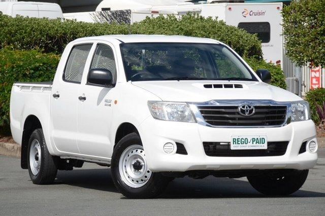 Used Toyota Hilux SR Double Cab, Acacia Ridge, 2012 Toyota Hilux SR Double Cab KUN16R MY12 Utility