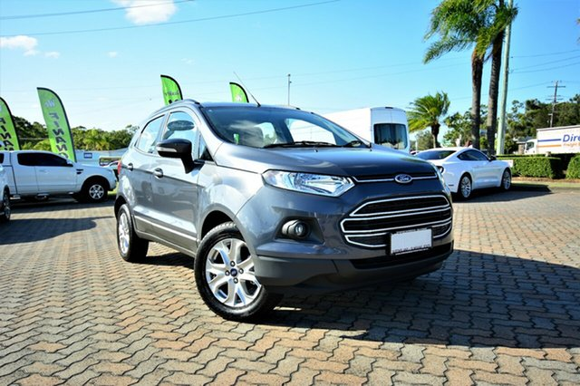 Discounted Demonstrator, Demo, Near New Ford Ecosport Trend PwrShift, Southport, 2016 Ford Ecosport Trend PwrShift SUV