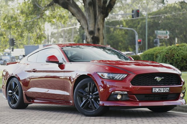 Discounted Demonstrator, Demo, Near New Ford Mustang Fastback SelectShift, Warwick Farm, 2016 Ford Mustang Fastback SelectShift Fastback