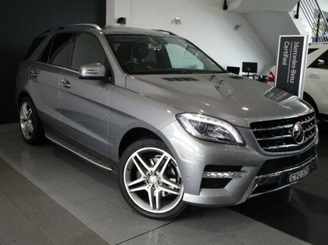 Demonstrator, Demo, Near New Mercedes-Benz ML350 BlueTEC 7G-Tronic +, Mosman, 2015 Mercedes-Benz ML350 BlueTEC 7G-Tronic + Wagon