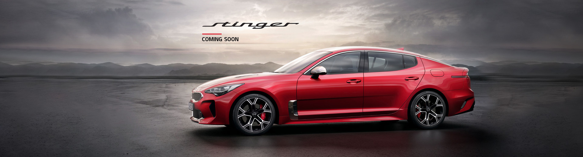 Coming Soon - Kia Stinger