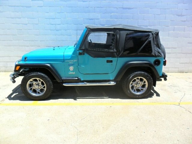Used Jeep Wrangler Sport, Redcliffe, 1996 Jeep Wrangler Sport Softtop