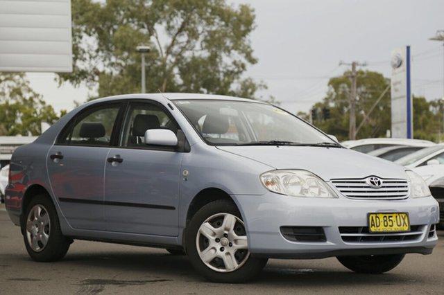 Used Toyota Corolla Ascent, Narellan, 2005 Toyota Corolla Ascent Sedan