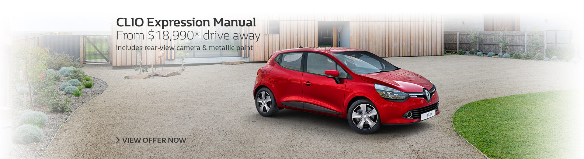 Renault - National Offer - Clio Run Out - From $18,990