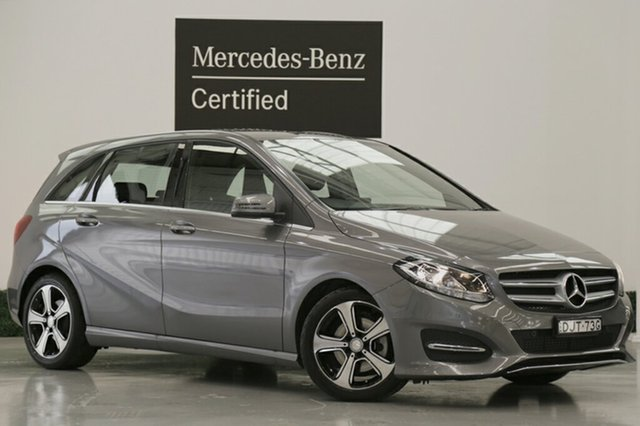 Demonstrator, Demo, Near New Mercedes-Benz B180 DCT, Narellan, 2016 Mercedes-Benz B180 DCT Hatchback