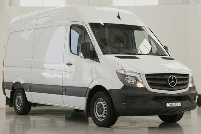 Discounted Demonstrator, Demo, Near New Mercedes-Benz Sprinter 316CDI Low Roof MWB 7G-Tronic, Southport, 2015 Mercedes-Benz Sprinter 316CDI Low Roof MWB 7G-Tronic Van