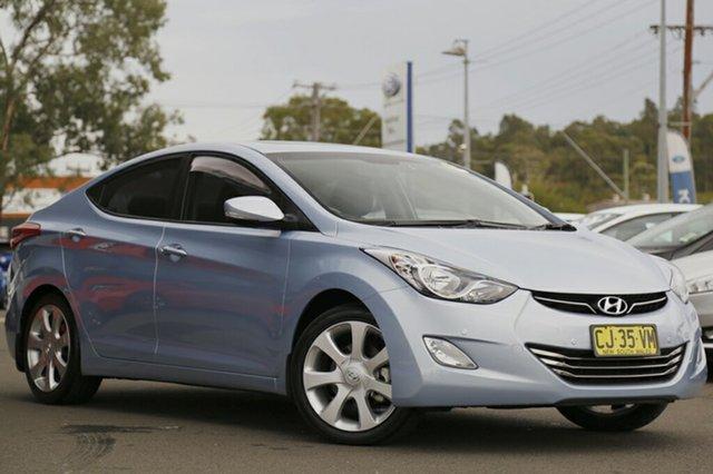Used Hyundai Elantra Premium, Narellan, 2012 Hyundai Elantra Premium Sedan