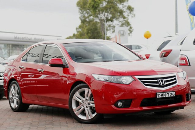 Used Honda Accord Euro Luxury, Narellan, 2012 Honda Accord Euro Luxury Sedan