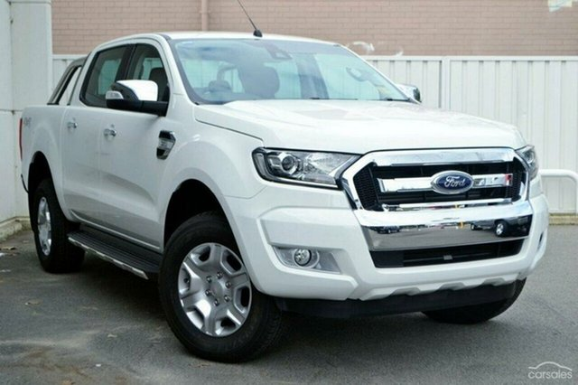 Demonstrator, Demo, Near New Ford Ranger, Warwick Farm, 2017 Ford Ranger