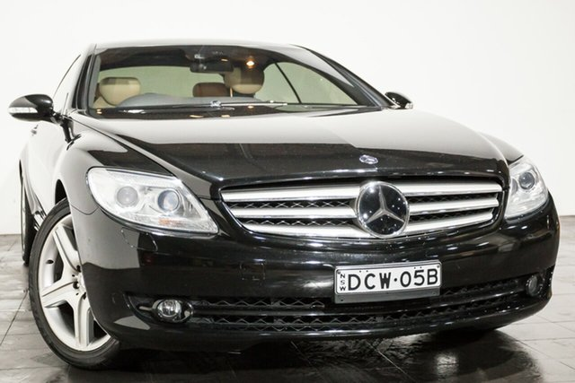 Used Mercedes-Benz CL500, Rozelle, 2007 Mercedes-Benz CL500 Coupe