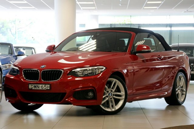 Used BMW 220i M Sport, Brookvale, 2016 BMW 220i M Sport Convertible