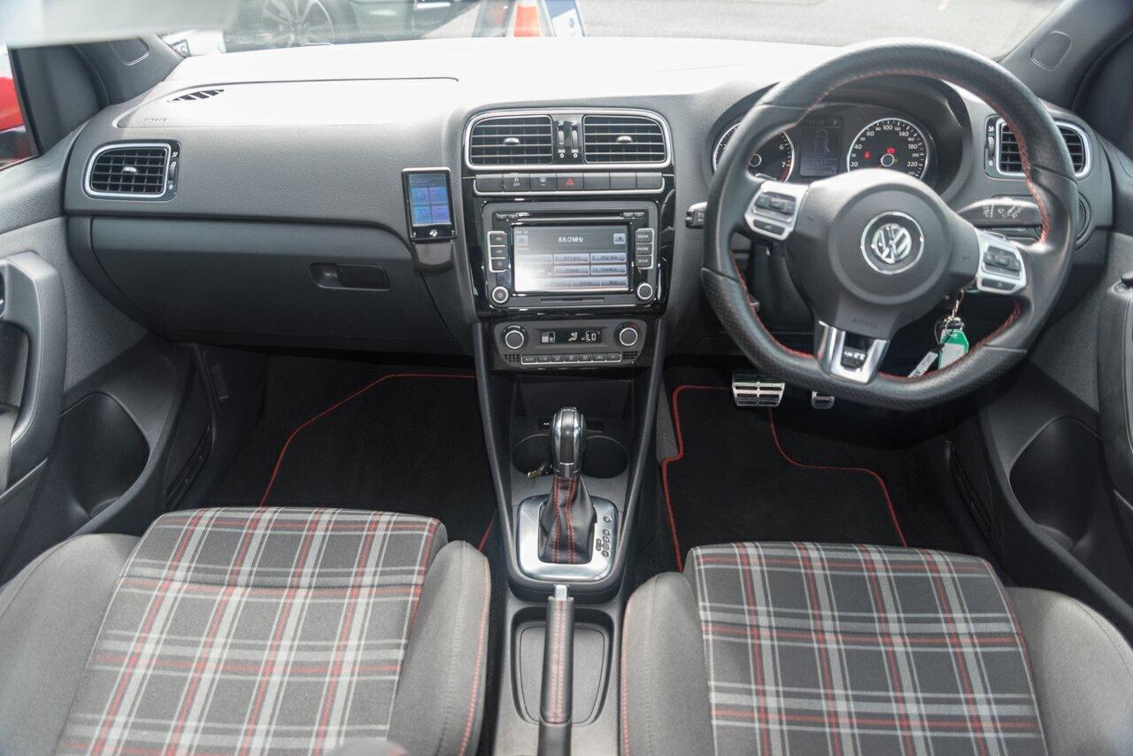 2013 Volkswagen Polo 77TSI DSG Comfortline 6R MY14