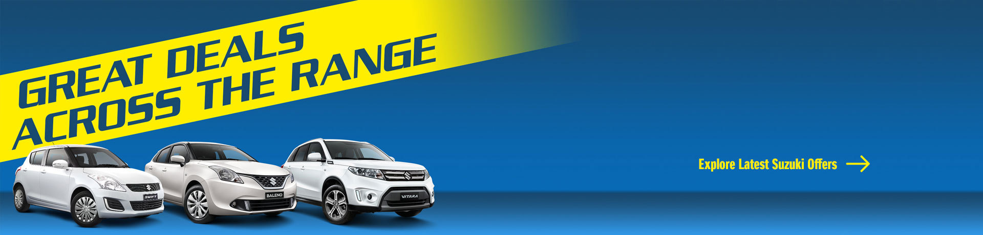Suzuki - National Offer - Great Deals Across The Range