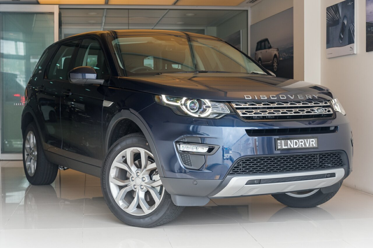 2016 Land Rover Discovery Sport L550 16.5MY