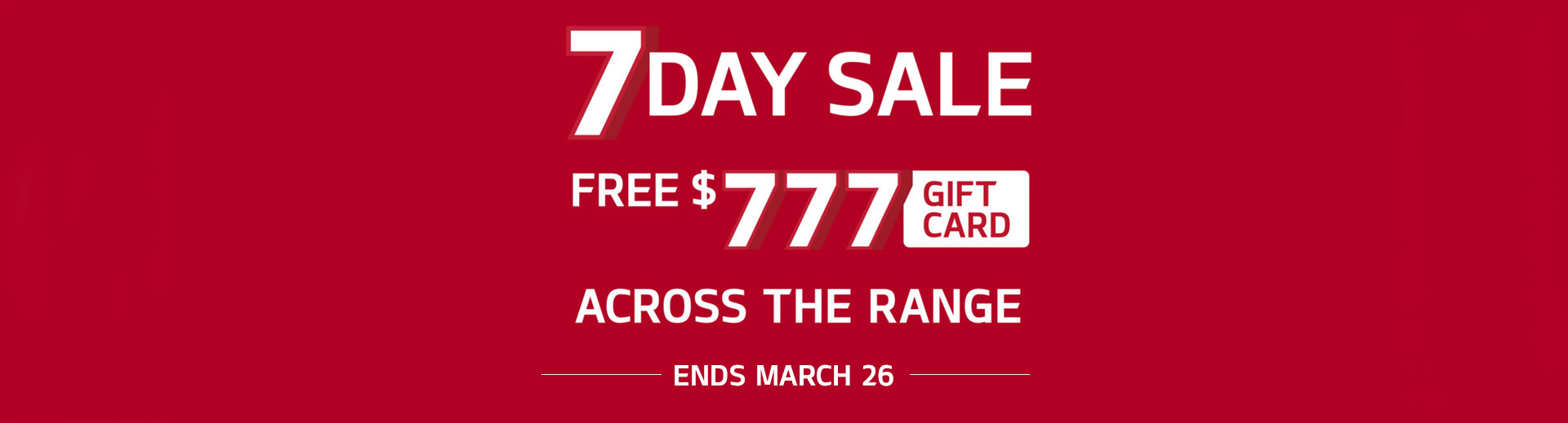 Kia - National Offer - 7 Day Sale Across The Range - Free $777 Gift Card
