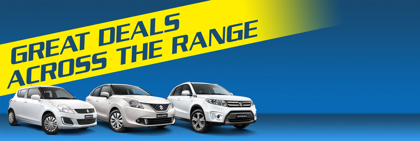 Suzuki - National Offer - Great Deals Across The Range