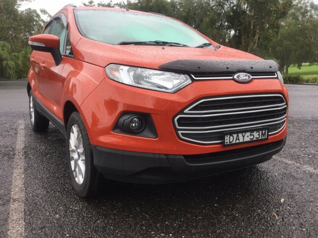 Used Ford Ecosport Trend PwrShift, Coffs Harbour, 2015 Ford Ecosport Trend PwrShift Wagon