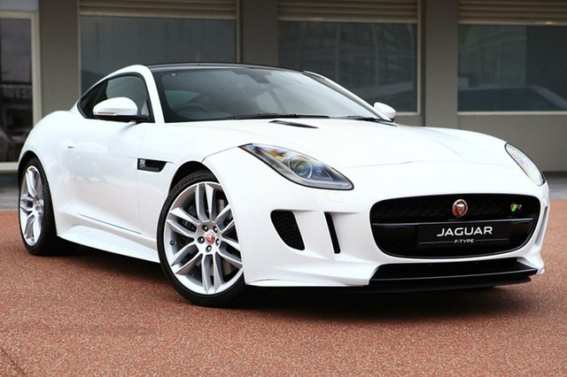 Demonstrator, Demo, Near New Jaguar F-TYPE R Quickshift RWD, Osborne Park, 2016 Jaguar F-TYPE R Quickshift RWD Coupe