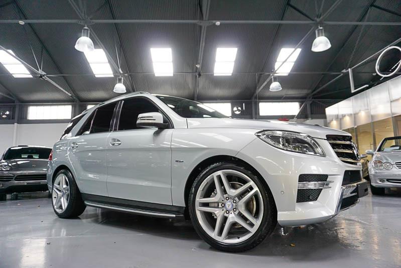 2012 Mercedes-benz Ml 166