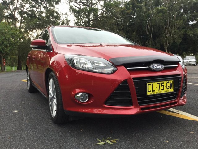Used Ford Focus Trend PwrShift, Coffs Harbour, 2011 Ford Focus Trend PwrShift Sedan