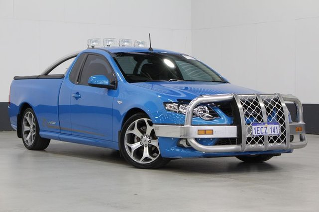 Used Ford Falcon XR6 50th Anniversary, Bentley, 2010 Ford Falcon XR6 50th Anniversary Utility