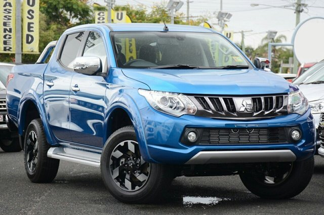 Demonstrator, Demo, Near New Mitsubishi Triton Exceed Double Cab, Toowong, 2018 Mitsubishi Triton Exceed Double Cab Utility