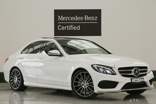 Demonstrator, Demo, Near New Mercedes-Benz C250 7G-Tronic +, Narellan, 2016 Mercedes-Benz C250 7G-Tronic + Sedan