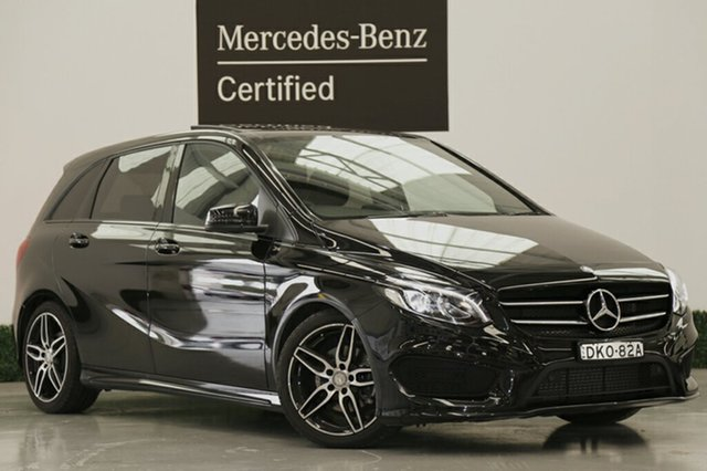 Demonstrator, Demo, Near New Mercedes-Benz B200 DCT, Narellan, 2016 Mercedes-Benz B200 DCT Hatchback