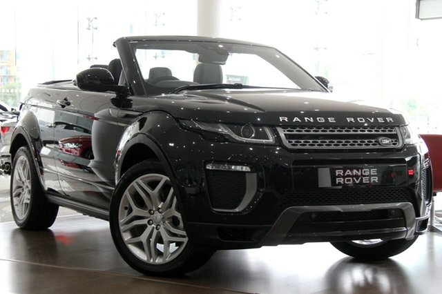 Land Rover Evoque TD4 180 SE Dynamic, Leichhardt, 2017 Land Rover Evoque TD4 180 SE Dynamic Convertible