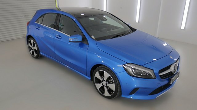 Demonstrator, Demo, Near New Mercedes-Benz A200 D-CT, Coffs Harbour, 2016 Mercedes-Benz A200 D-CT Hatchback
