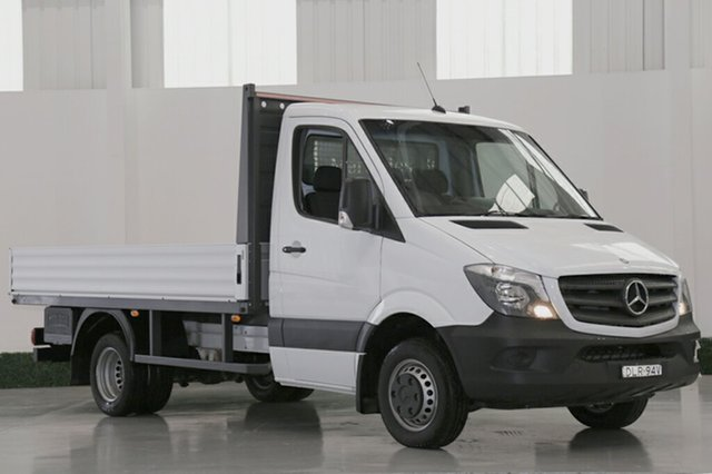 Demonstrator, Demo, Near New Mercedes-Benz Sprinter 516CDI MWB, Narellan, 2016 Mercedes-Benz Sprinter 516CDI MWB Cab Chassis
