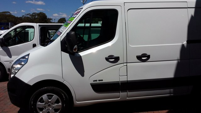 Discounted Demonstrator, Demo, Near New Renault Master Low Roof SWB AMT, Warwick Farm, 2016 Renault Master Low Roof SWB AMT Van