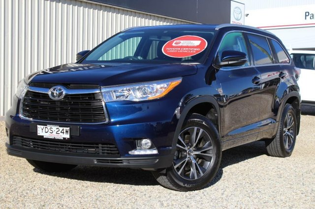 Used Toyota Kluger GXL (4x2), Bathurst, 2015 Toyota Kluger GXL (4x2) Wagon