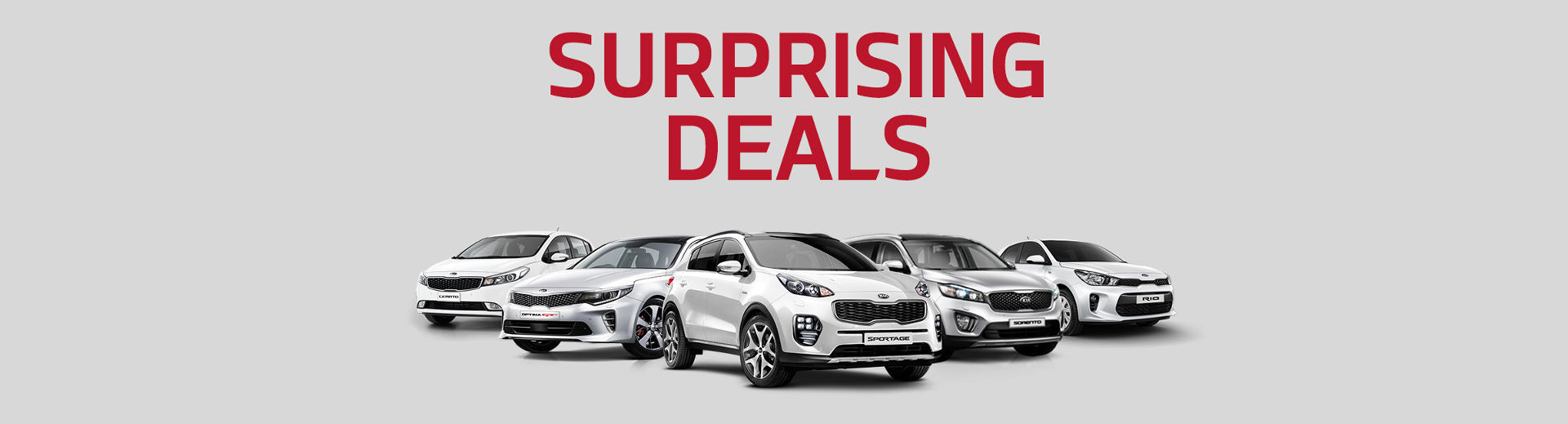 Kia - National Offer - Surprising Deals