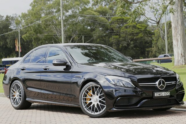 Used Mercedes-Benz C63 AMG SPEEDSHIFT MCT S, Warwick Farm, 2015 Mercedes-Benz C63 AMG SPEEDSHIFT MCT S Sedan