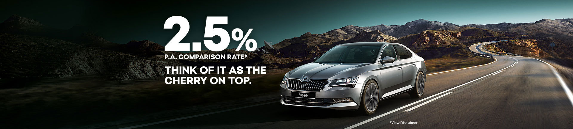 Skoda National Offer - 2.5% Comparison Rate