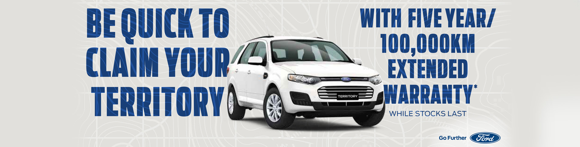 Ford - National Offer - With Five Year/100,000km Extended Warranty