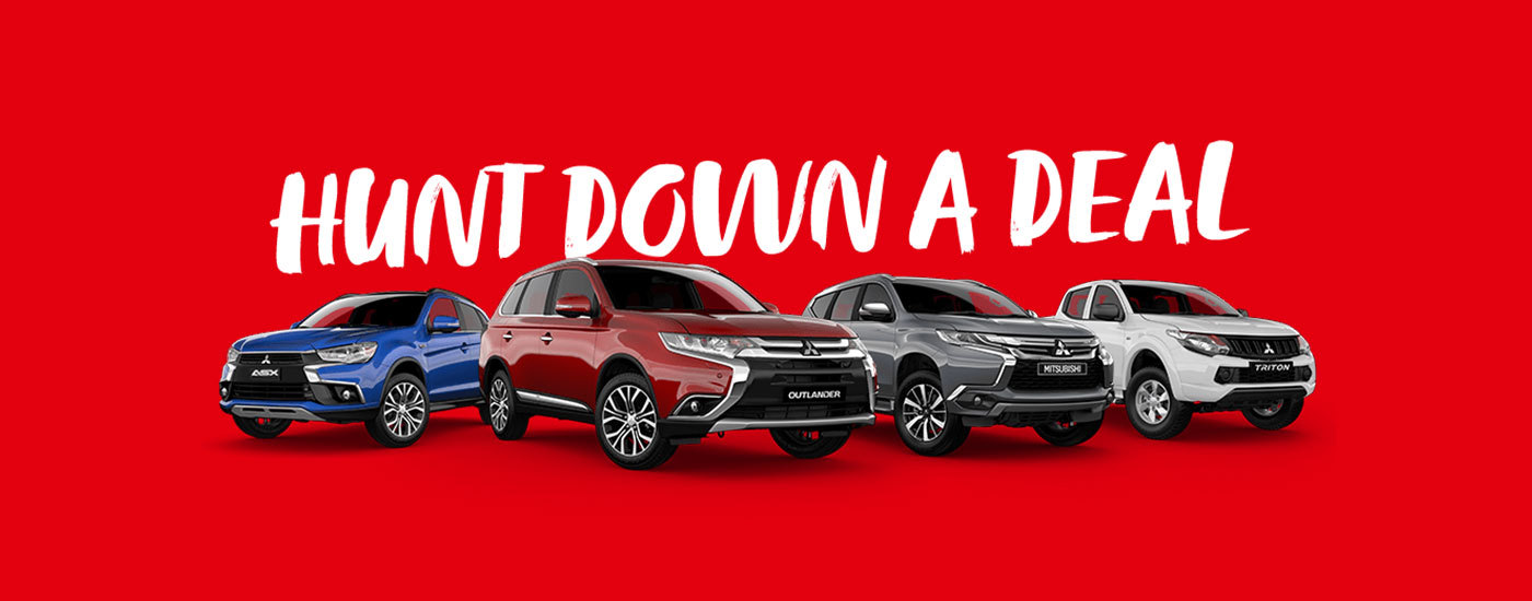 Mitsubishi - National Offer- Hunt Down A Deal