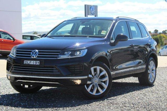 Demonstrator, Demo, Near New Volkswagen Touareg V6 TDI, Bathurst, 2016 Volkswagen Touareg V6 TDI Wagon