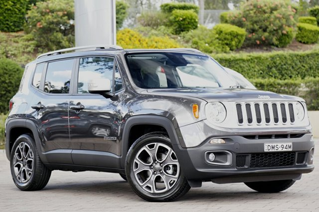Discounted Demonstrator, Demo, Near New Jeep Renegade Limited DDCT, Southport, 2016 Jeep Renegade Limited DDCT SUV