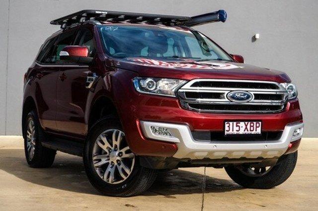 Used Ford Everest Trend 4WD, Moorooka, Brisbane, 2015 Ford Everest Trend 4WD Wagon