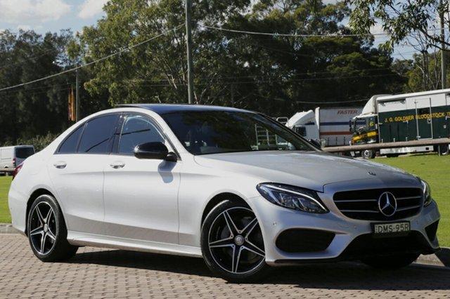 Used Mercedes-Benz C200 7G-Tronic +, Warwick Farm, 2016 Mercedes-Benz C200 7G-Tronic + Sedan