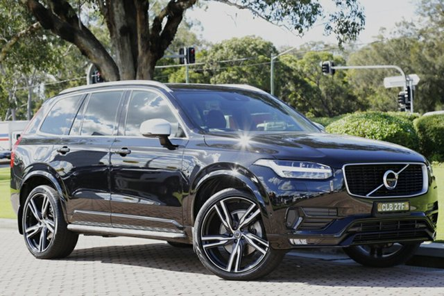 Discounted Used Volvo XC90 D5 Geartronic AWD R-Design, Warwick Farm, 2015 Volvo XC90 D5 Geartronic AWD R-Design SUV