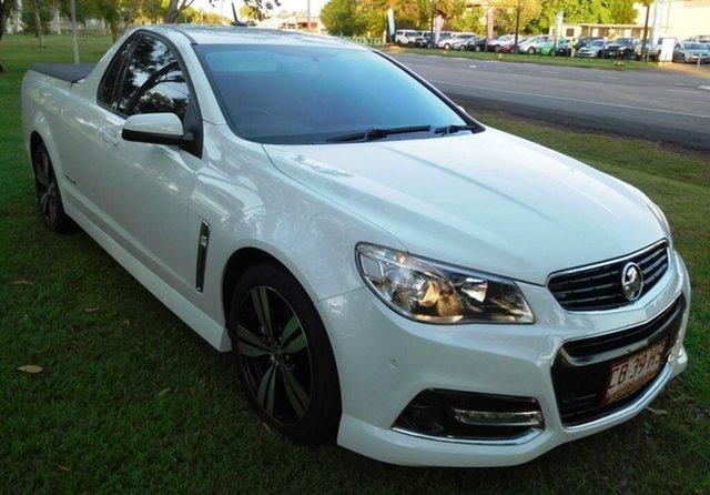 Used Holden Ute VF MY14 SV6 Ute Storm, 2014 Holden Ute VF MY14 SV6 Ute Storm White 6 Speed Sports Automatic Utility
