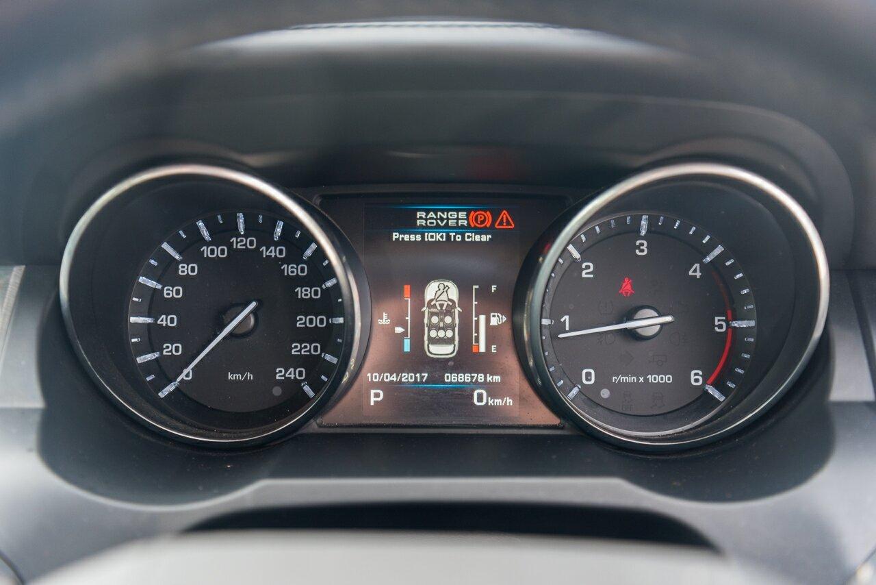 2013 Land Rover Range Rover Evoque TD4 CommandShift Pure L538 MY13
